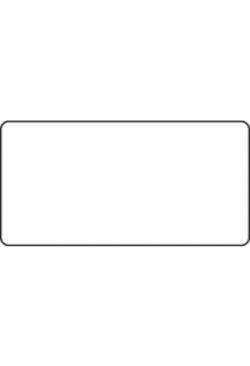 Etiketten 60x30mm, 1000Stk. div.Farben oder transparent