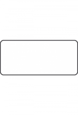 Etiketten 45x20mm, 1000Stk. div.Farben oder transparent