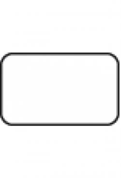 Etiketten 20x12mm, 1000Stk. div.Farben oder transparent