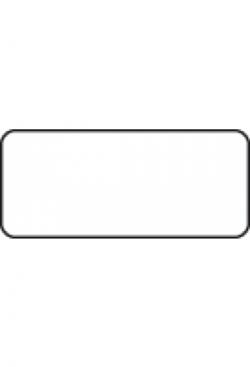 Etiketten 35x15mm, 1000Stk. div.Farben oder transparent