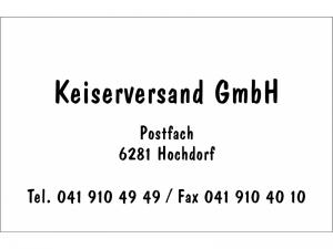 Visitenkarten Druck schwarz Dom Casual