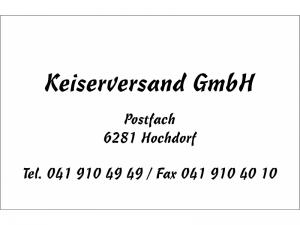Visitenkarten Druck schwarz Freehand